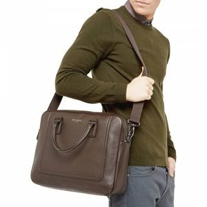 Ted Baker London Ragna Leather Document Bag